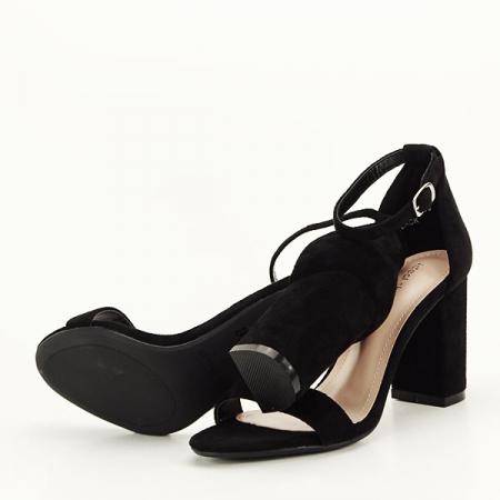 Sandale negre elegante Sabina [7]