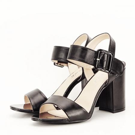 Sandale negre office/casual Berna [1]