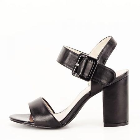Sandale negre office/casual Berna [0]