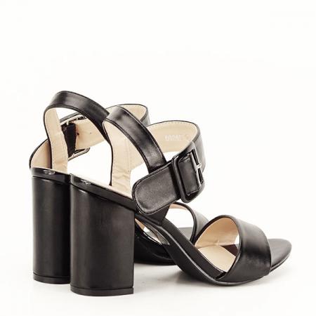 Sandale negre office/casual Berna [5]
