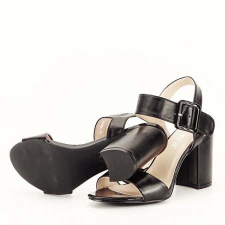 Sandale negre office/casual Berna [6]
