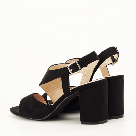 Sandale negre office/casual Olive [4]