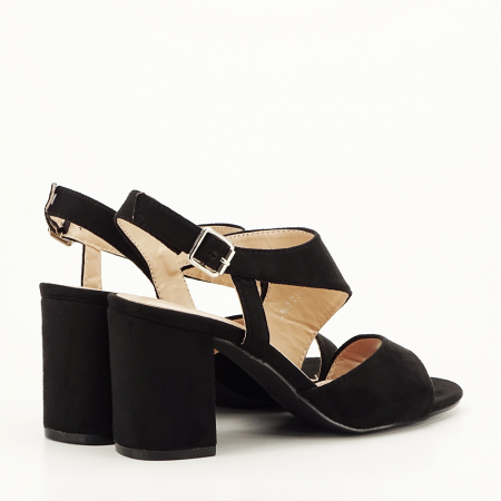 Sandale negre office/casual Olive [5]