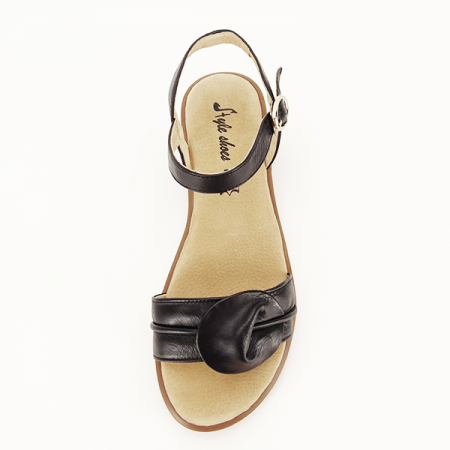 Sandale piele naturala negre Lori [1]