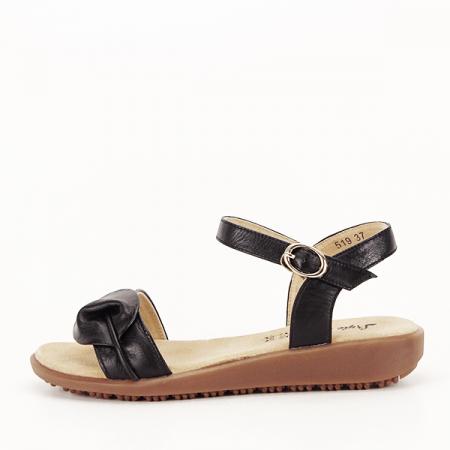 Sandale piele naturala negre Lori [6]