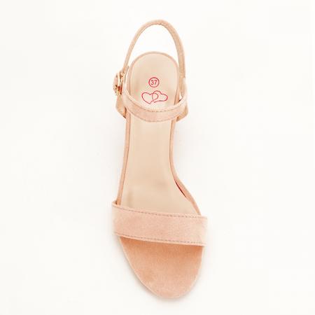 Sandale roz pudra Daria [1]