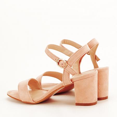 Sandale roz pudra Daria [4]