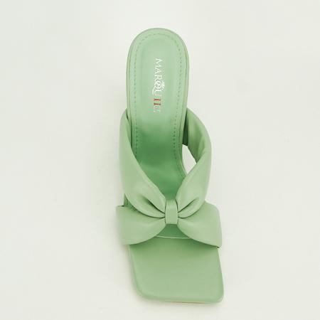 Sandale verzi cu toc Sonia [6]