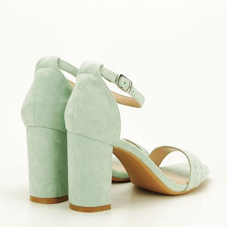 Sandale verzi elegante Sabina [4]