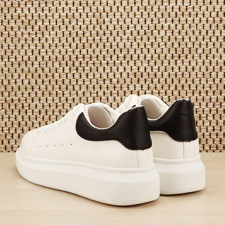 Sneakers alb cu negru Madison [3]