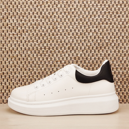 Sneakers alb cu negru Madison [1]