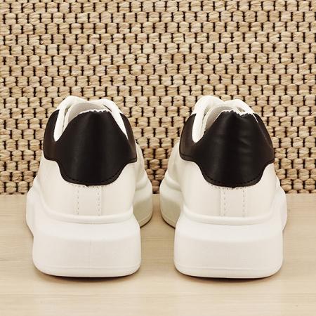 Sneakers alb cu negru Madison [5]