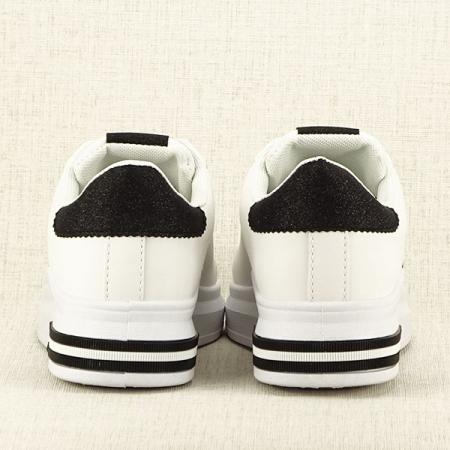 Sneakers alb cu negru Sonia 2 [6]