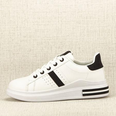 Sneakers alb cu negru Sonia 2 [0]