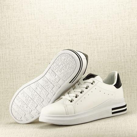 Sneakers alb cu negru Sonia7