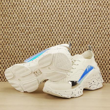 Sneakers alb Martina [7]