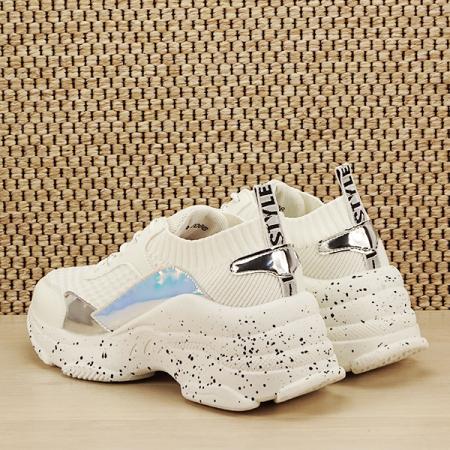 Sneakers alb Martina [3]