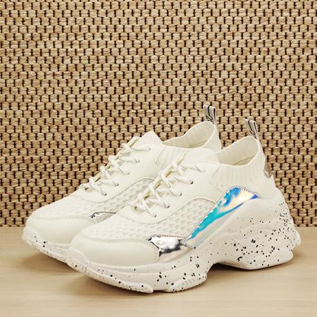 Sneakers alb Martina [1]