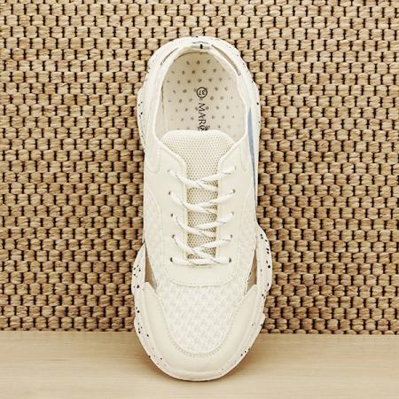 Sneakers alb Martina [6]