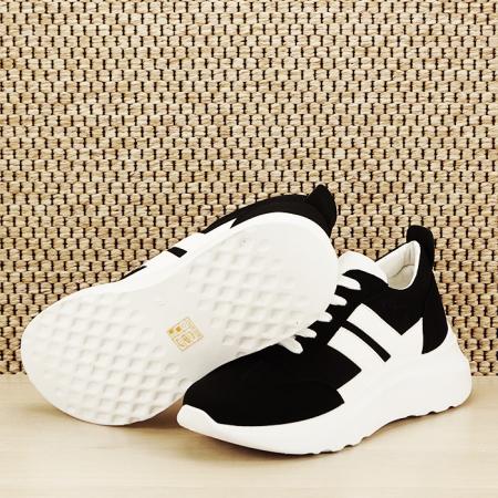 Sneakers alb/negru Calista [7]