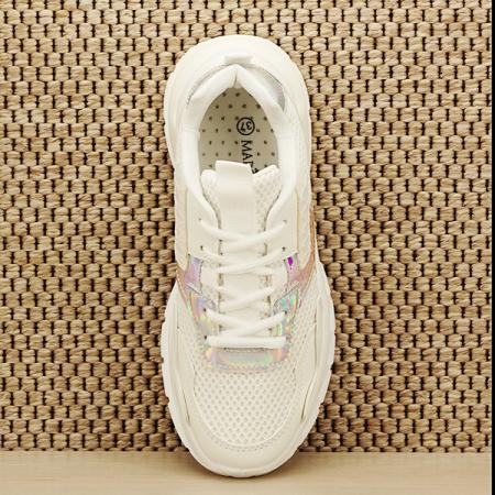 Sneakers alb Taylor [6]