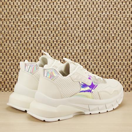 Sneakers alb Taylor [4]