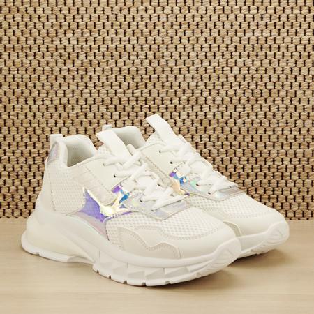 Sneakers alb Taylor [2]