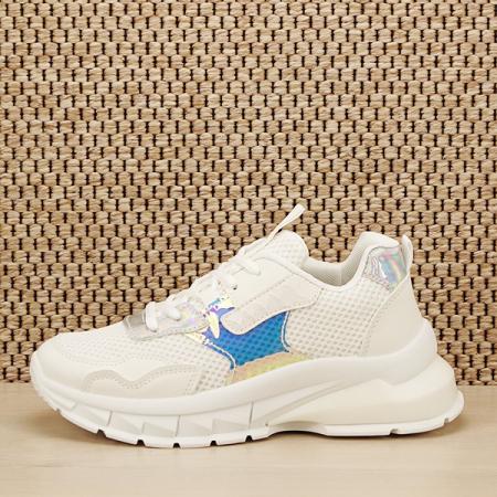 Sneakers alb Taylor [0]