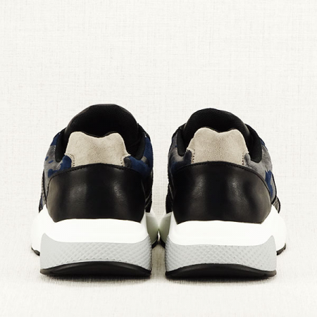 Sneakers albastru cu negru Ania6