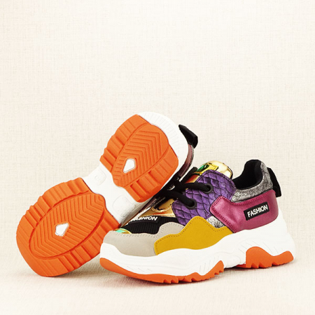 Sneakers auriu Valeria [7]
