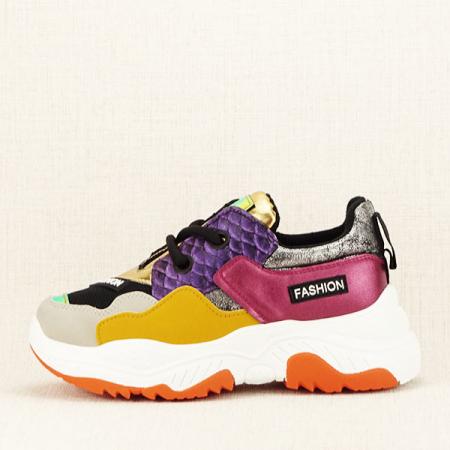 Sneakers auriu Valeria [0]