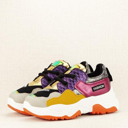 Sneakers auriu Valeria [2]