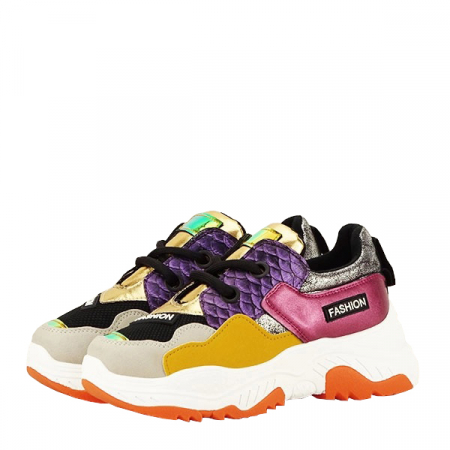 Sneakers auriu Valeria [8]