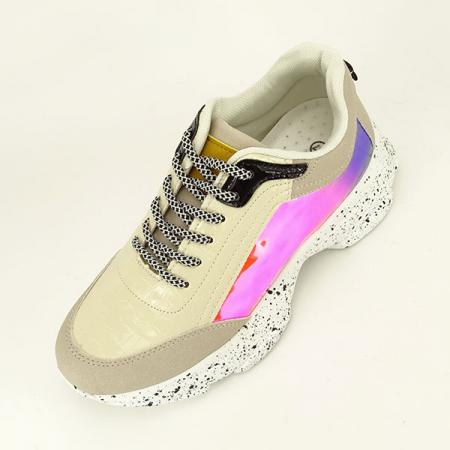 Sneakers bej Daiana1