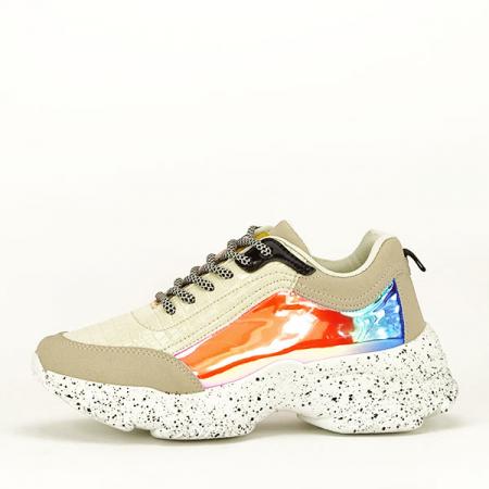 Sneakers bej Daiana0