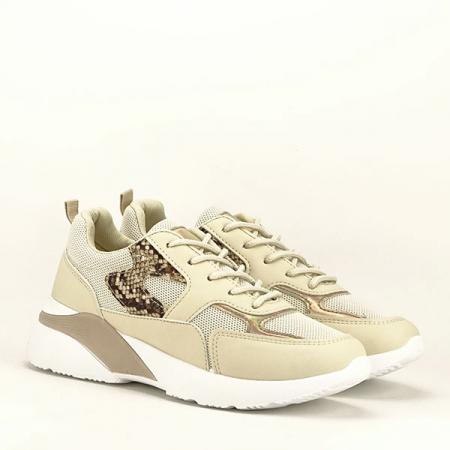 Sneakers bej Fabia [3]