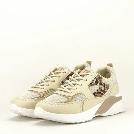 Sneakers bej Fabia [2]