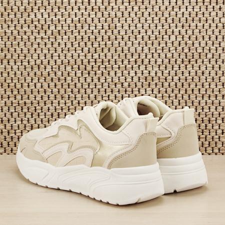 Sneakers bej Tania [3]