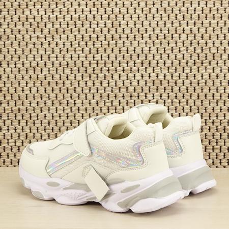 Sneakers copii alb Hannah [3]