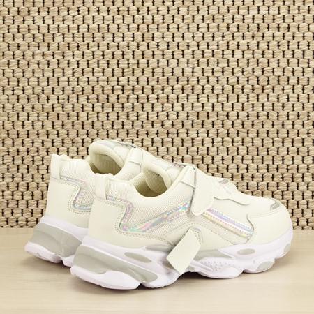 Sneakers copii alb Hannah [4]