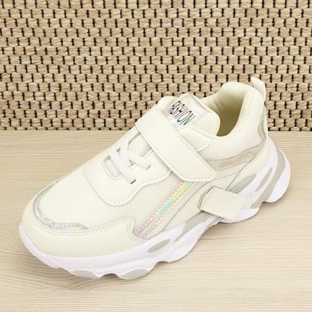 Sneakers copii alb Hannah [6]