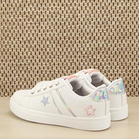 Sneakers copii alb Sofia [3]