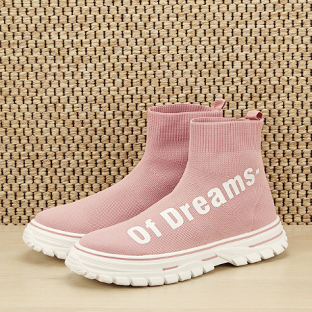 Sneakers copii roz tip soseta Dream [1]