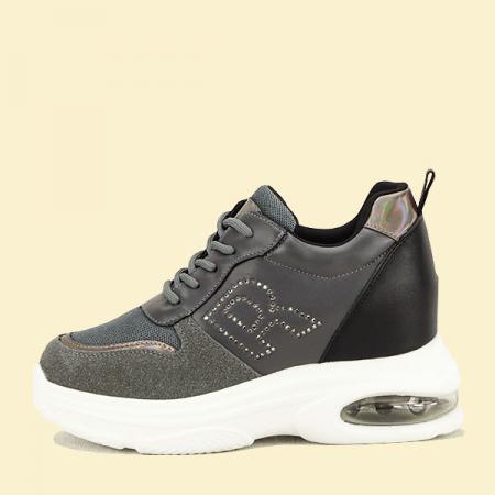 Sneakers gri High-Top Luna0