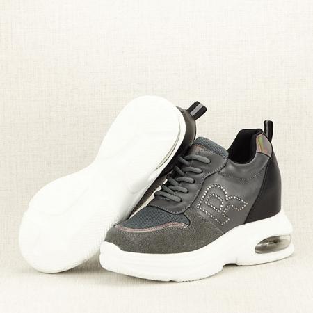 Sneakers gri High-Top Luna7
