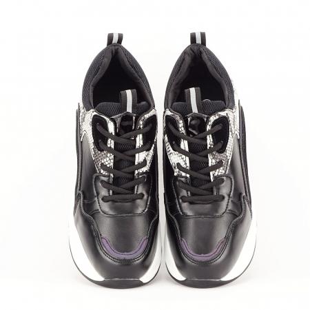Sneakers negri High-Top Leslie3