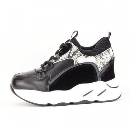 Sneakers negri High-Top Leslie0