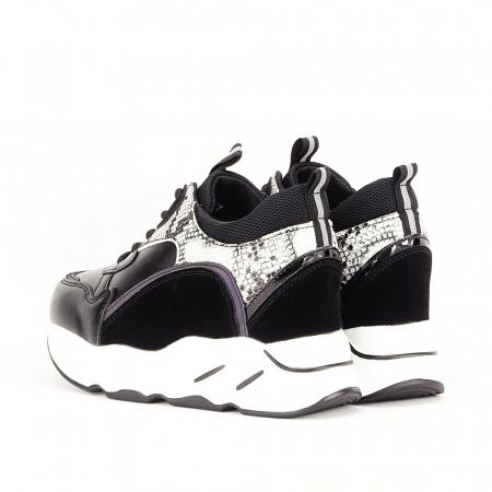 Sneakers negri High-Top Leslie5