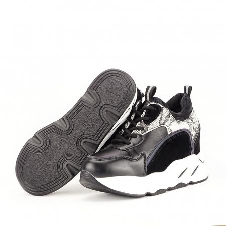 Sneakers negri High-Top Leslie2
