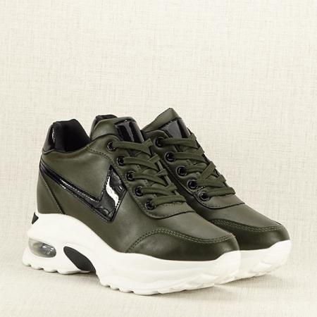 Sneakers kaki High Top Abby [2]